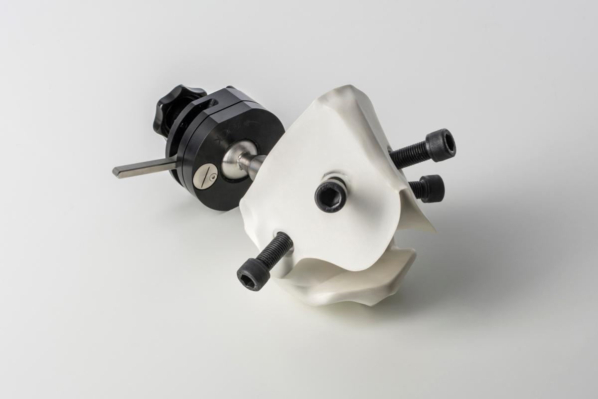 Hip Work-Station V3 Sub-assy Sliding Orientator + Pivot Bar